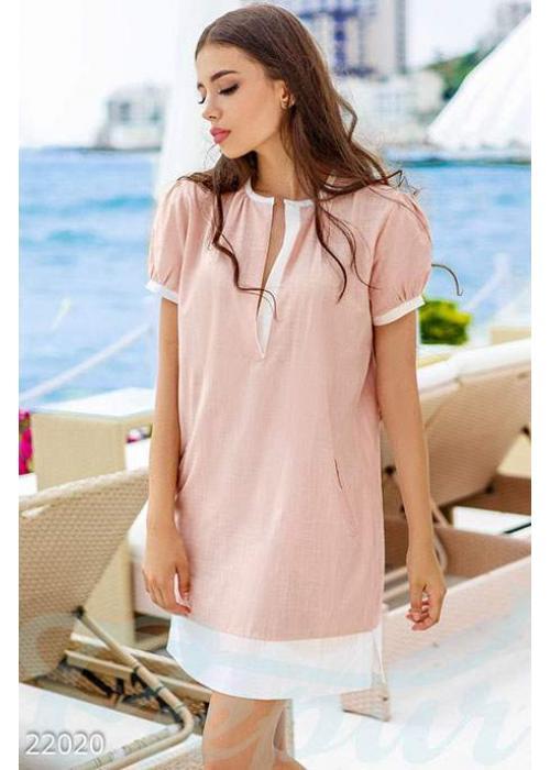 Нежное льняное платье 22020 купить по цене 605 грн. в Украине — интернет-магазин Modesti