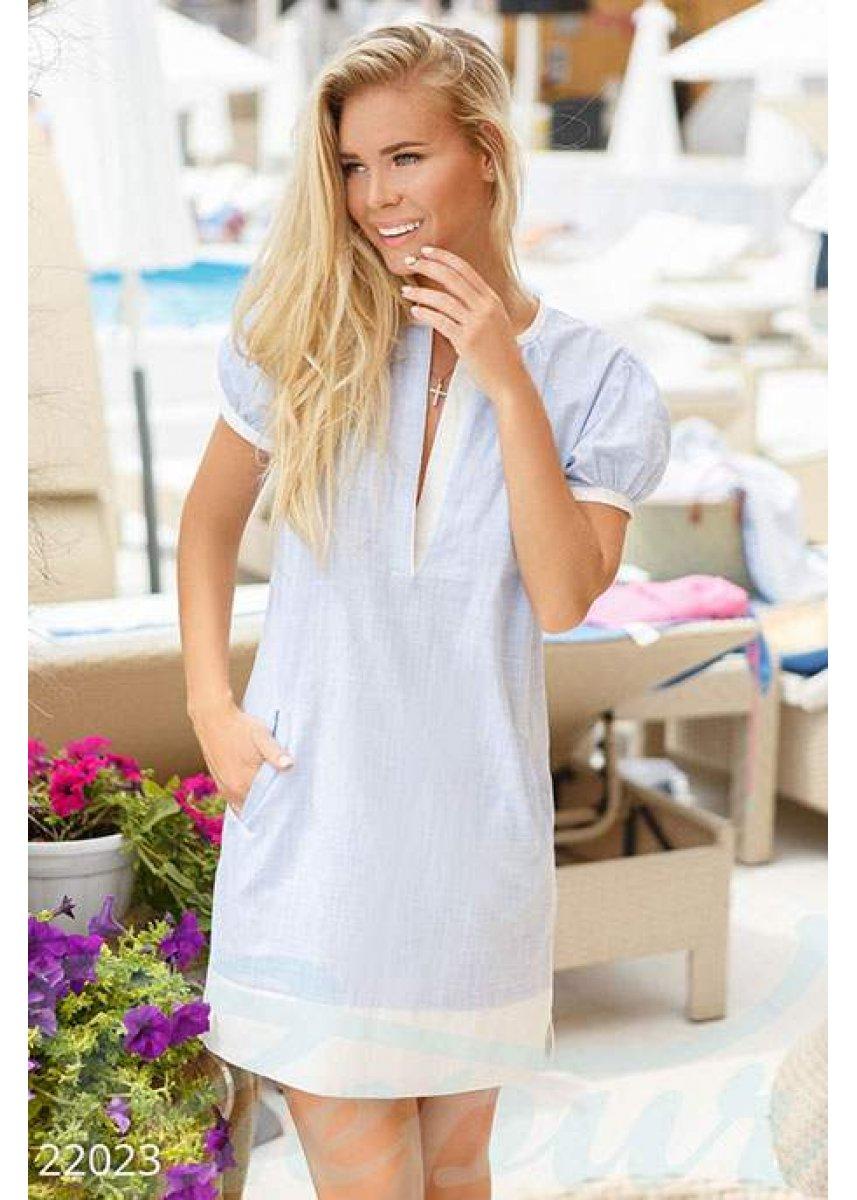 6dc7f4355afa80f Аккуратное короткое платье 22023 купить по низкой цене в Украине ...