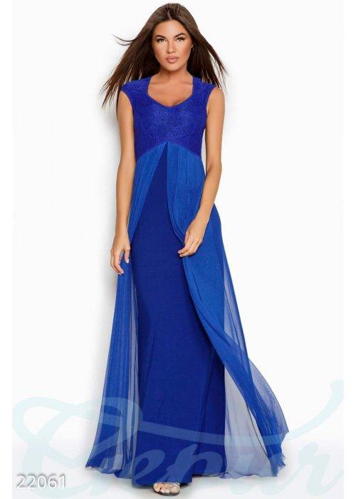 Вечернее платье-сетка 22061 купить по низкой цене в Украине — интернет-магазин Modesti