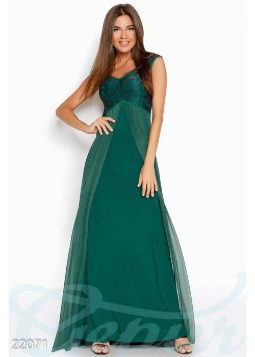 Вечернее платье-сетка 22071 купить по цене 1 050 грн. в Украине — интернет-магазин Modesti