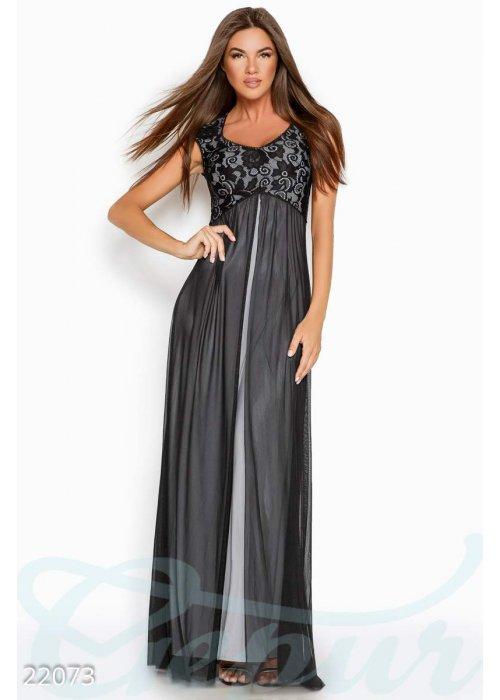 Вечернее платье-сетка 22073 купить по низкой цене в Украине — интернет-магазин Modesti