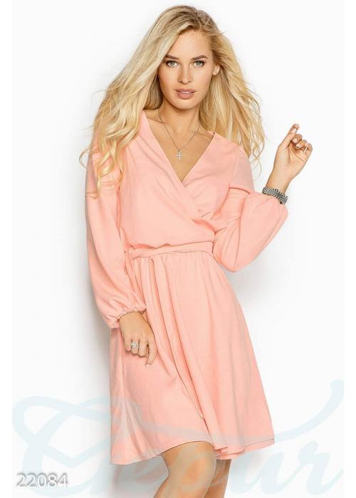 Приталенное платье мини 22084 купить по цене 780 грн. в Украине — интернет-магазин Modesti