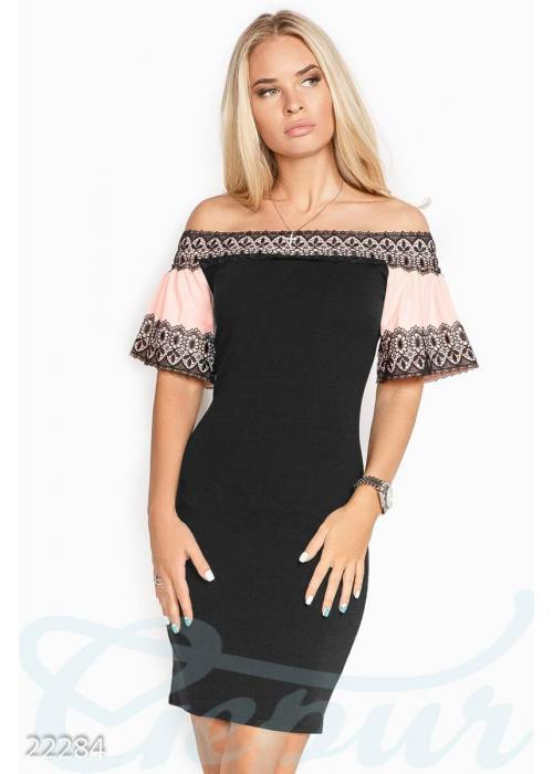 Облегающее коктейльное платье 22284 купить по цене 885 грн. в Украине — интернет-магазин Modesti