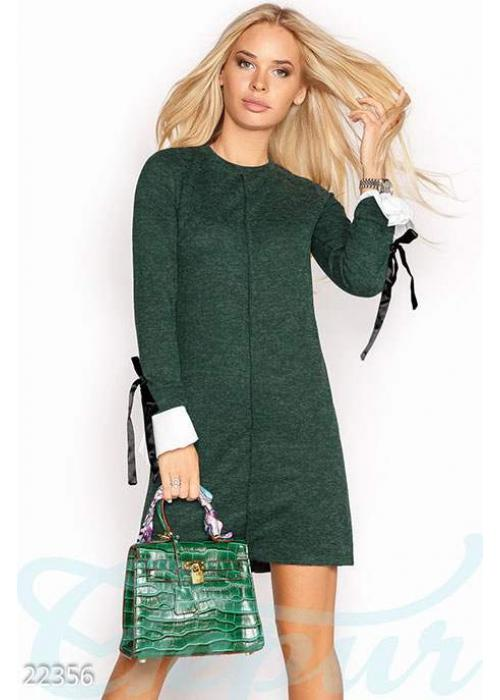 Ангоровое платье-трапеция 22356 купить по цене 640 грн. в Украине — интернет-магазин Modesti