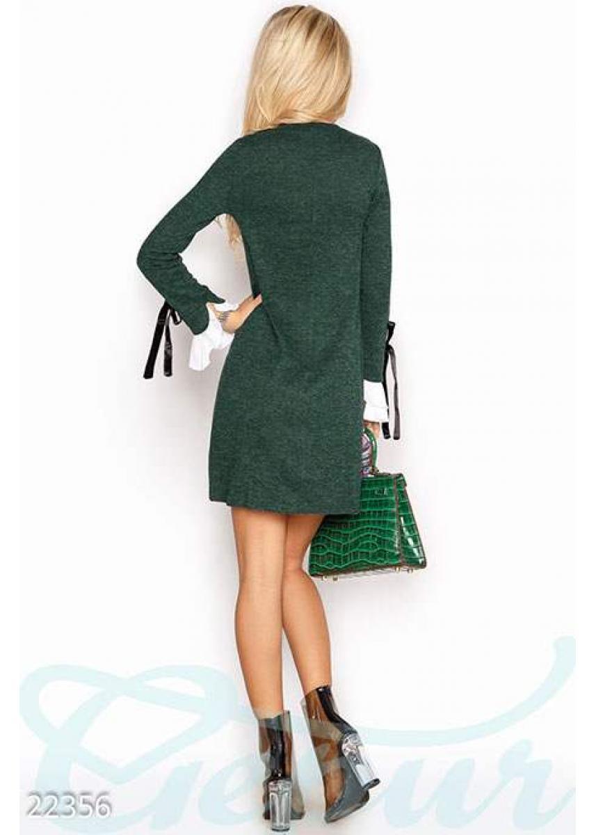8e1f0fbe078363e Ангоровое платье-трапеция 22356 купить по низкой цене в Украине ...