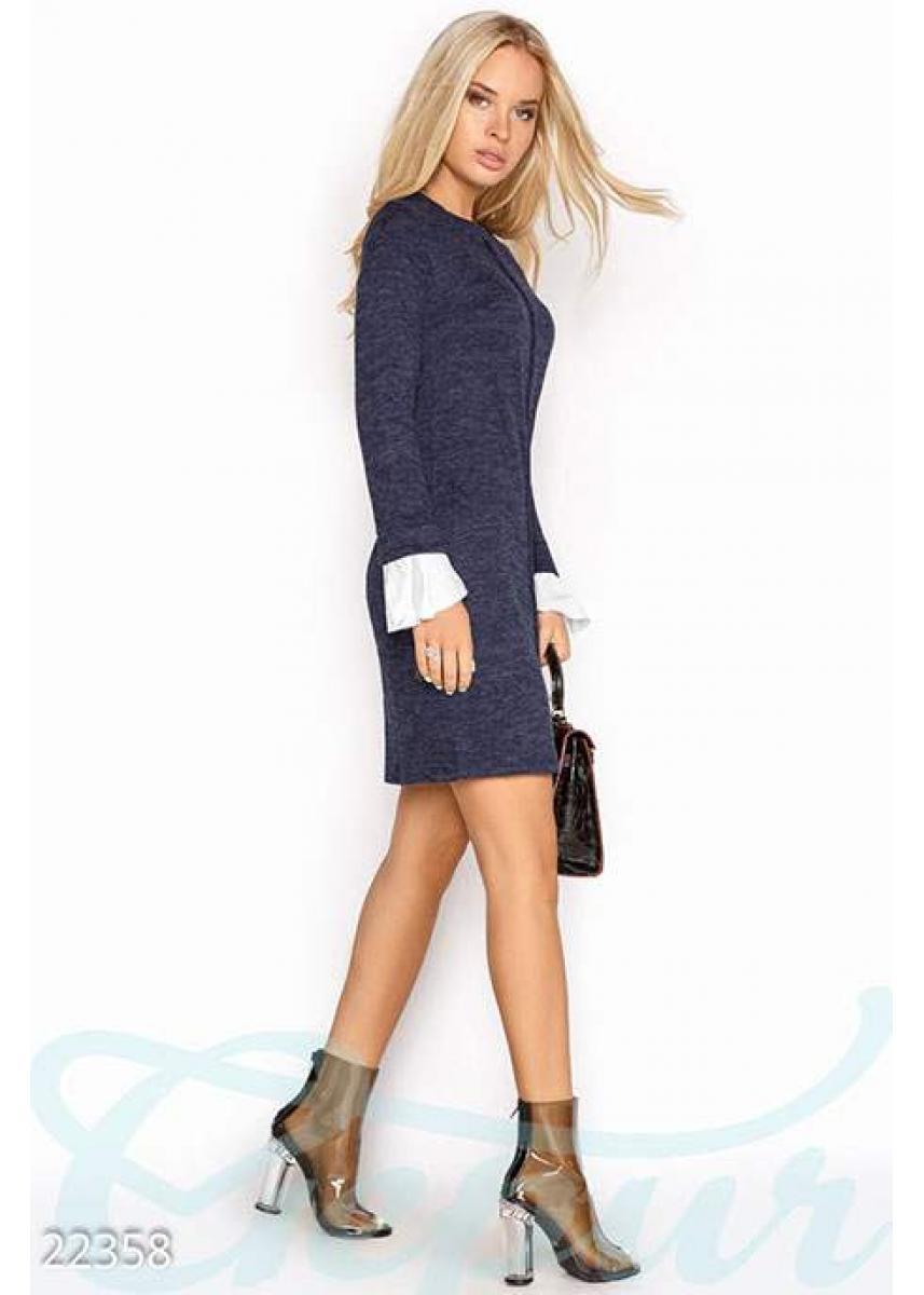 cac07ef3ed1e5a6 Ангоровое платье-трапеция 22358 купить по низкой цене в Украине ...