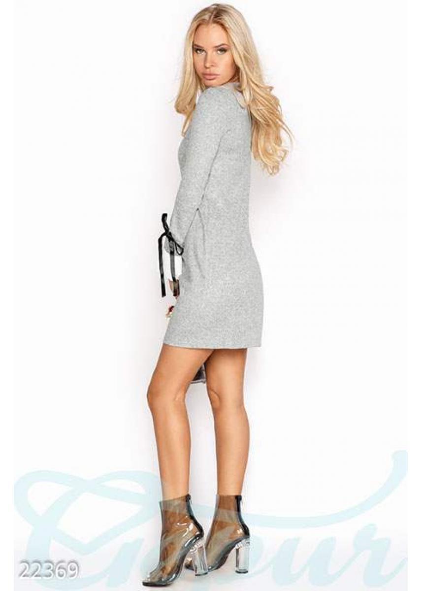 9aea4b1ead35a1b Ангоровое платье-трапеция 22369 купить по низкой цене в Украине ...