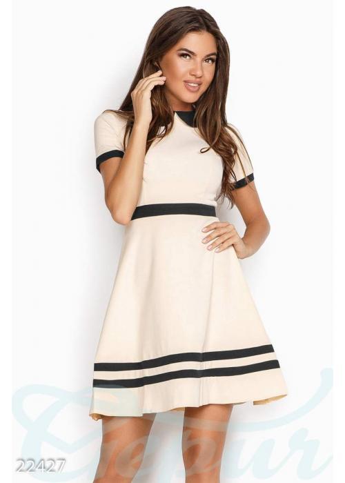 Аккуратное офисное платье 22427 купить по низкой цене в Украине — интернет-магазин Modesti