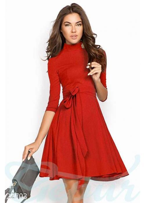 Простое женственное платье 22703 купить по цене 915 грн. в Украине — интернет-магазин Modesti