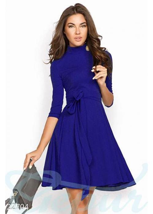 Простое женственное платье 22704 купить по цене 880 грн. в Украине — интернет-магазин Modesti