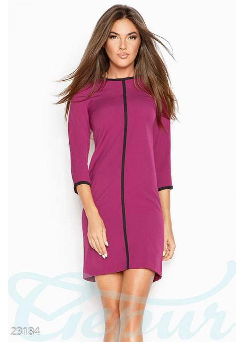 602c7c54ede Прямое офисное платье 23184 купить по цене 755 грн. в Украине —  интернет-магазин
