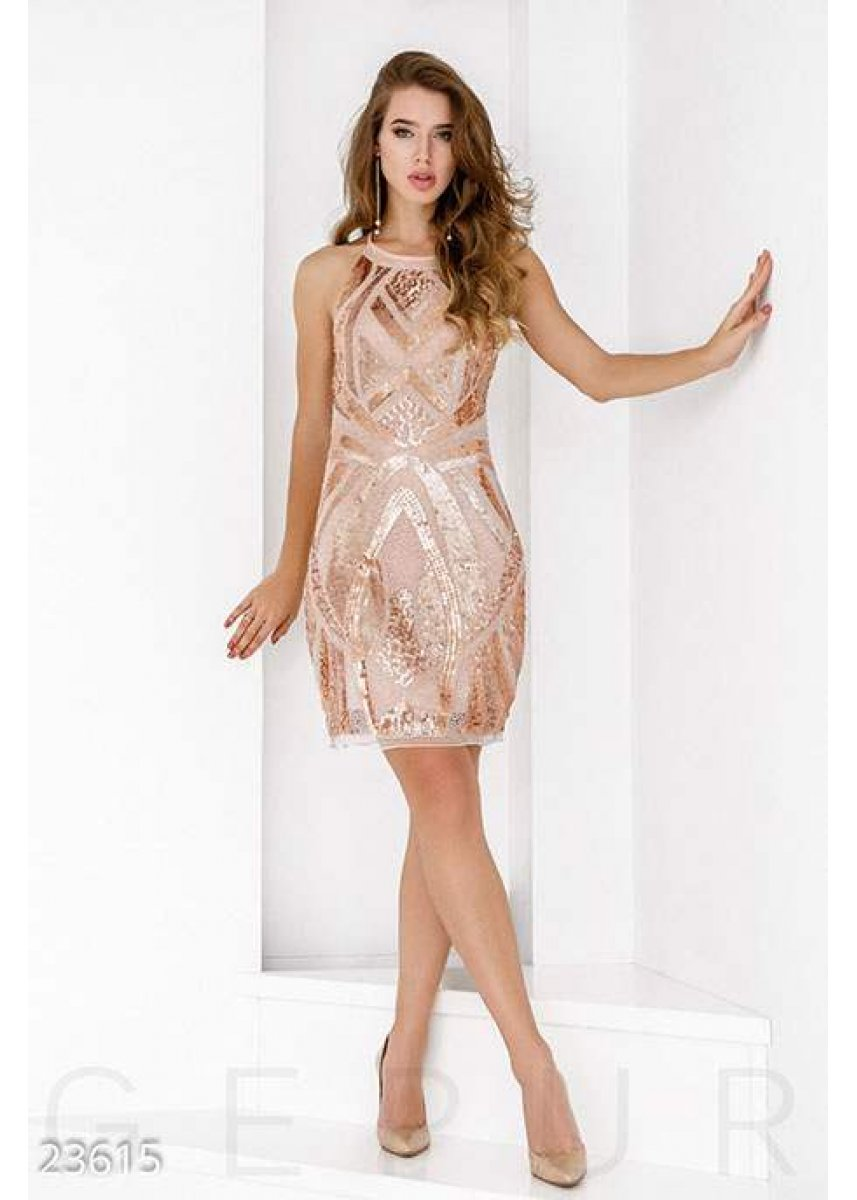 fa16a05051b Ослепительное коктейльное платье 23615 купить по низкой цене в ...