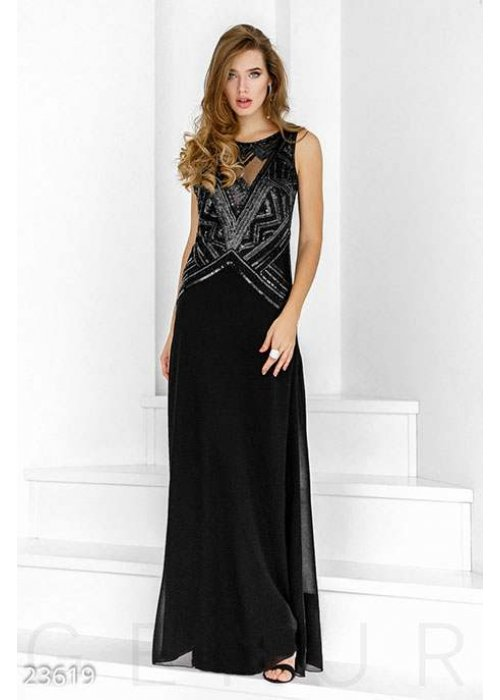 Воздушное вечернее платье