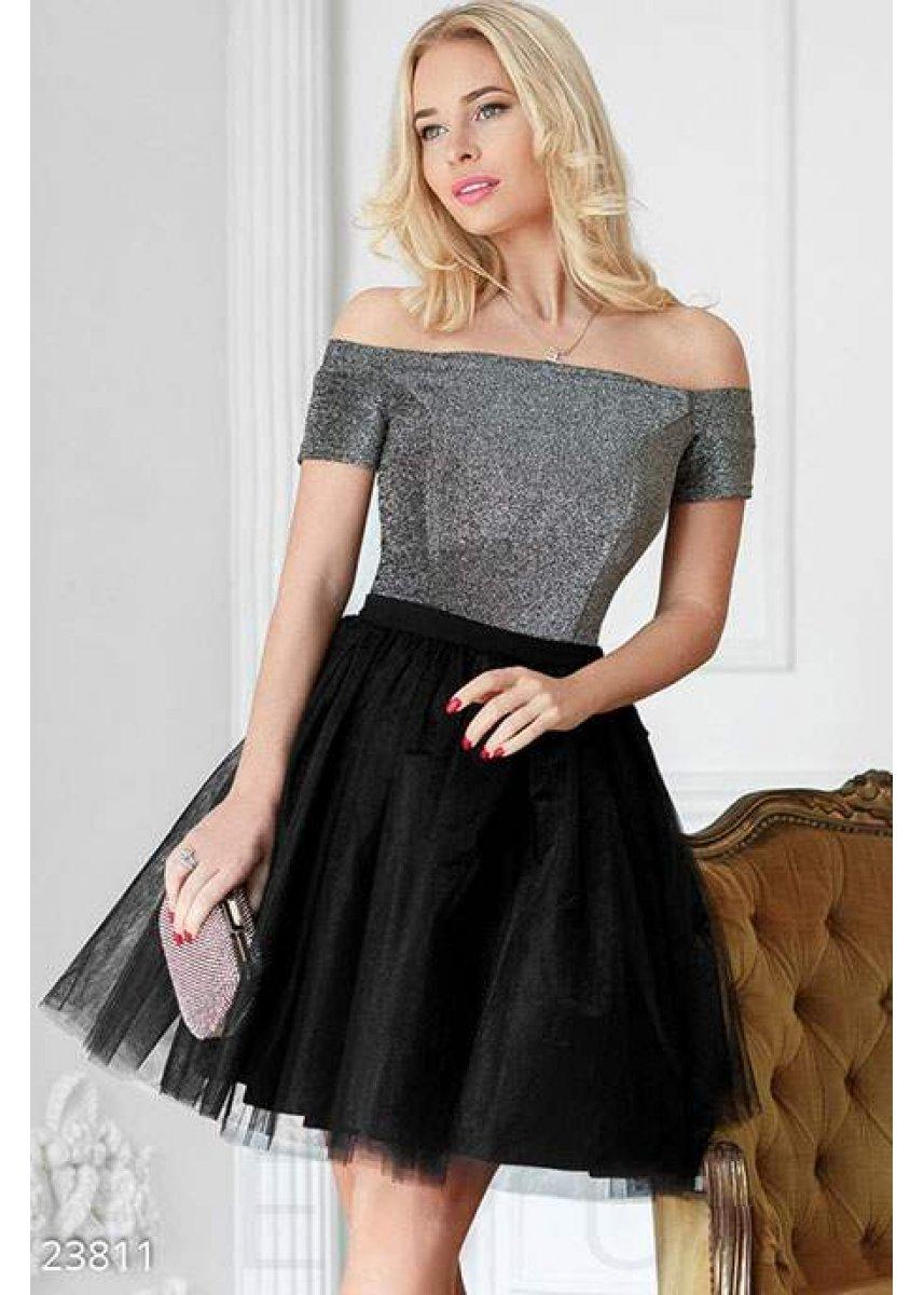 c25d65dbb822bc5 Коктейльное платье-пачка 23811 купить по низкой цене в Украине ...