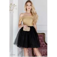 Коктейльное платье-пачка