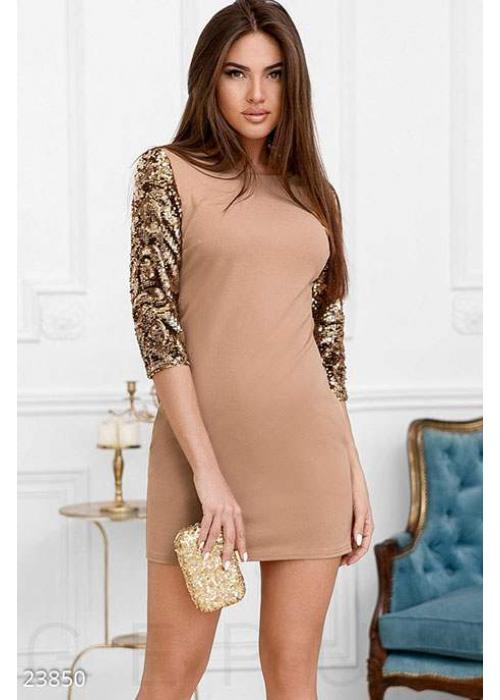 Праздничное платье пайетки