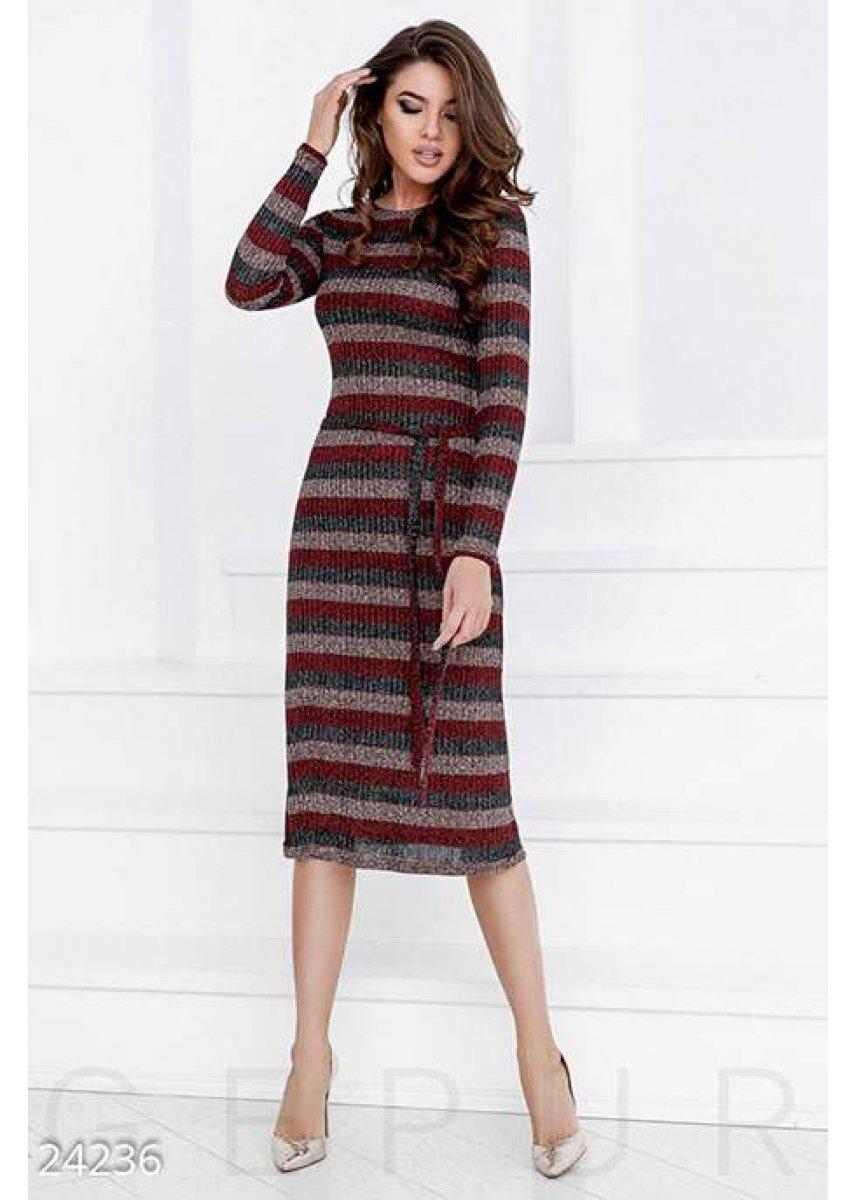 e7f60a29947 Вязаное платье-миди 24236 купить по низкой цене в Украине — интернет ...