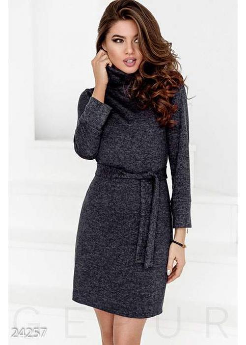 Прямое трикотажное платье 24257 купить по цене 790 грн. в Украине — интернет-магазин Modesti