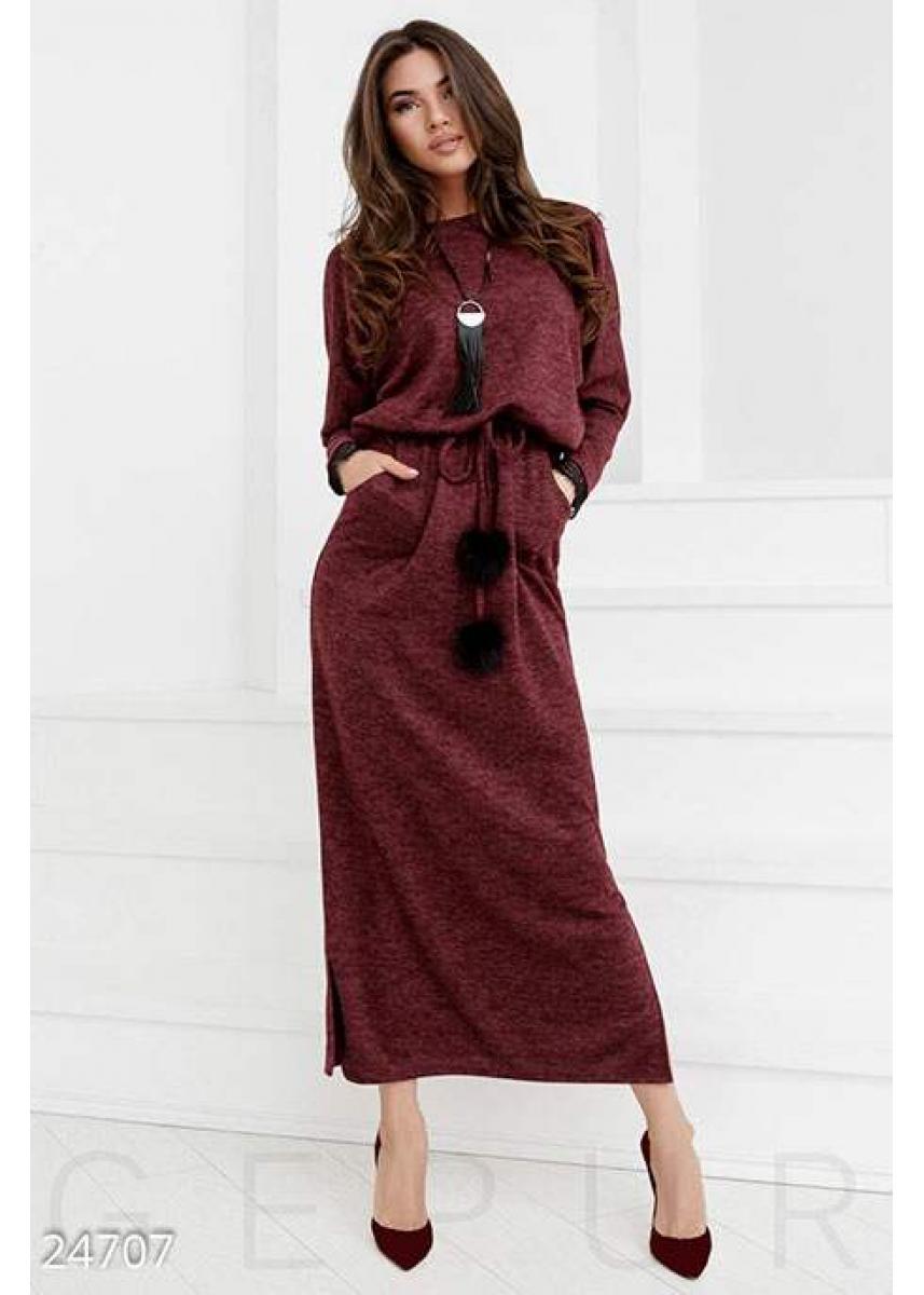 46602930955 Теплое платье-реглан 24707 купить по низкой цене в Украине ...