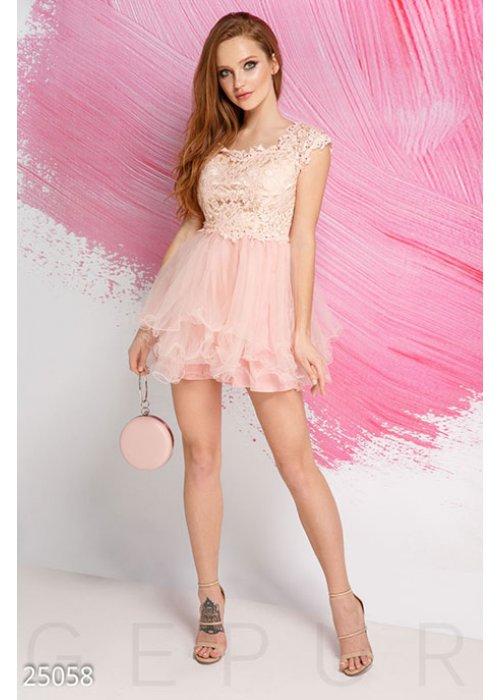 Нежное платье-пачка