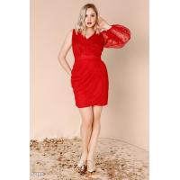 Воздушное платье-миди