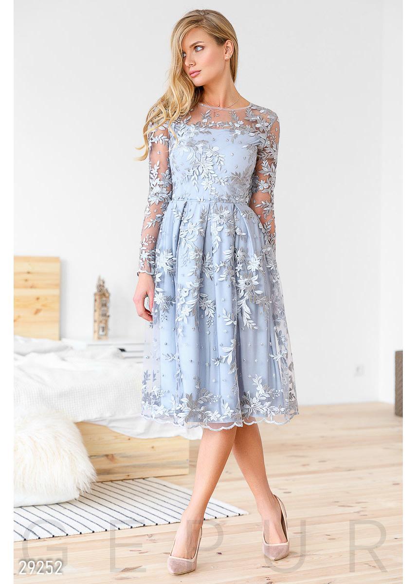 fdaef37bda88a31 Ажурное вечернее платье 29252 купить по низкой цене в Украине ...