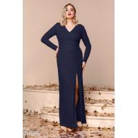 Эффектное платье-макси