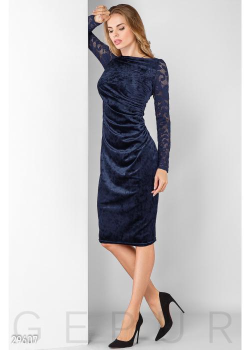 Вечернее платье бархат