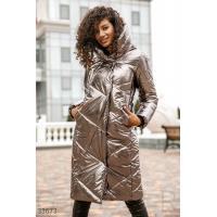 Куртка бронзового оттенка