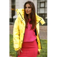 Куртка солнечного желтого