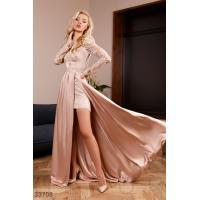 Платье из невесомого шелка