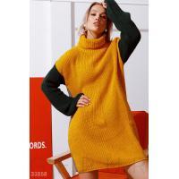 Двустороннее платье-свитер