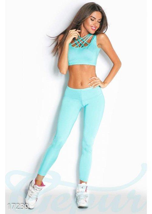 Облегающий спортивный костюм 17239 купить по цене 695 грн. в Украине — интернет-магазин Modesti