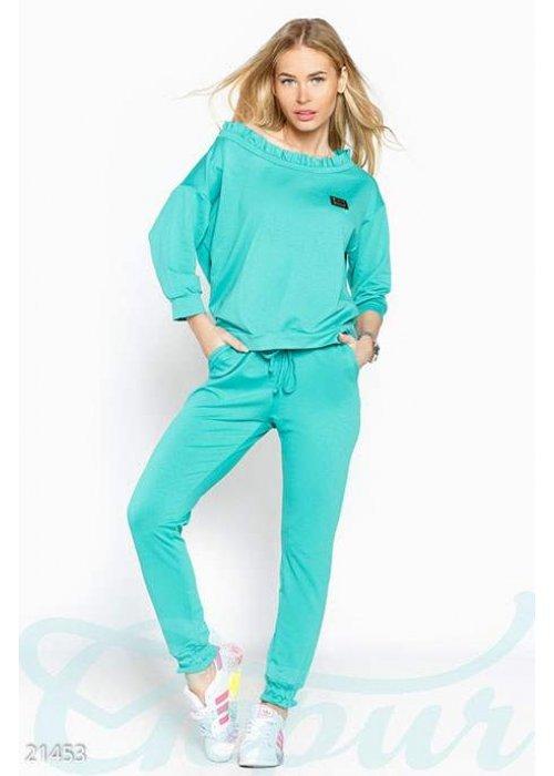 Спортивный костюм оборки 21453 купить по цене 820 грн. в Украине — интернет-магазин Modesti