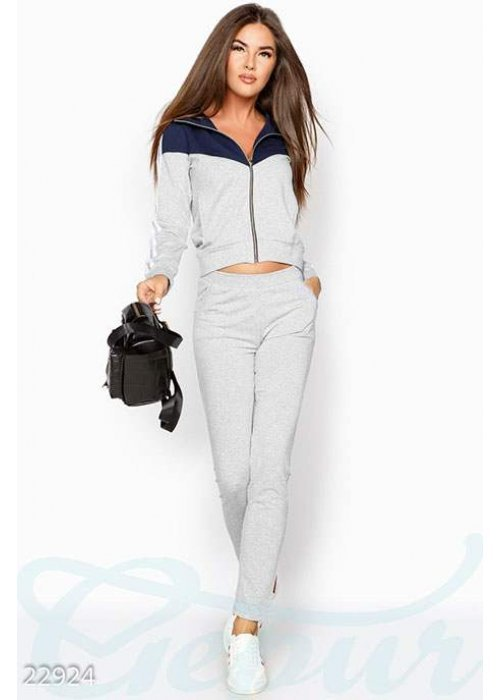 Стильный тренировочный костюм 22924 купить по цене 1 120 грн. в Украине — интернет-магазин Modesti
