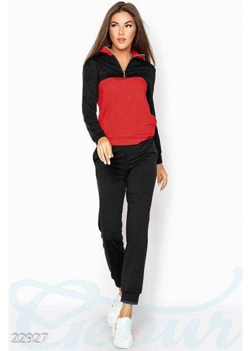 Контрастный тренировочный костюм 22927 купить по цене 1 099 грн. в Украине — интернет-магазин Modesti