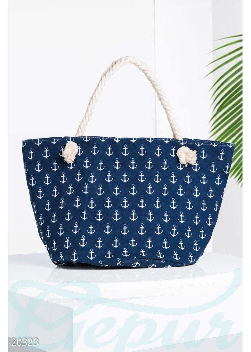 Удобная пляжная сумка 20323 купить по низкой цене в Украине ... 3da7524d659