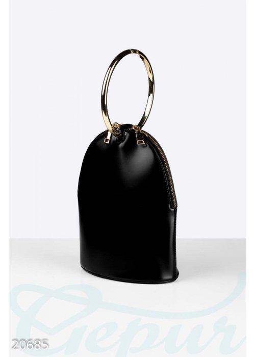 Каркасная маленькая сумка
