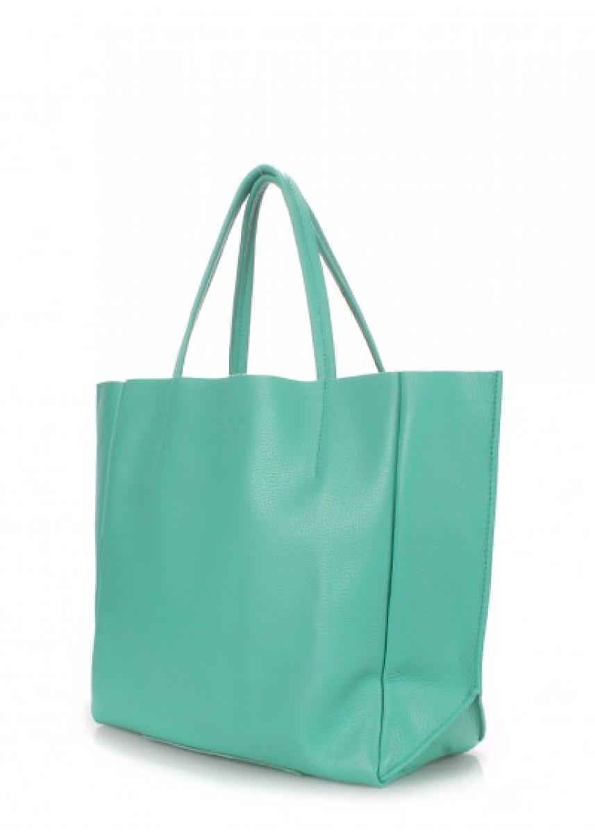 c6965c7fc7cc Кожаная сумка POOLPARTY Soho poolparty-soho-mint купить по низкой ...