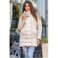 Удлиненная синтепоновая куртка