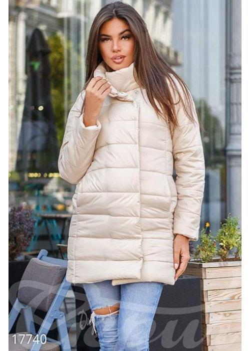 Удлиненная синтепоновая куртка 17740 купить по цене 998 грн. в Украине — интернет-магазин Modesti