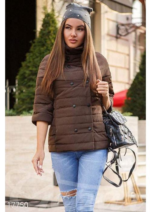 Двубортная демисезонная куртка 17750 купить по цене 895 грн. в Украине — интернет-магазин Modesti