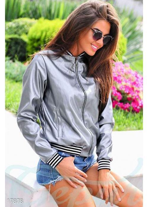 Ультрамодная куртка-бомбер 17878 купить по цене 930 грн. в Украине — интернет-магазин Modesti
