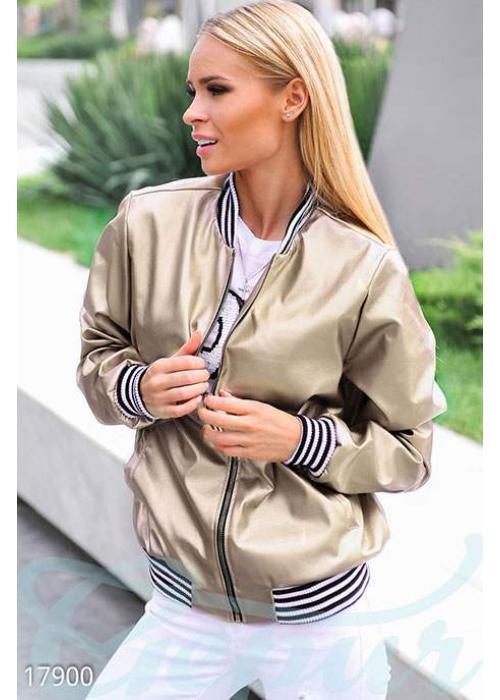 Ультрамодная куртка-бомбер 17900 купить по низкой цене в Украине — интернет-магазин Modesti