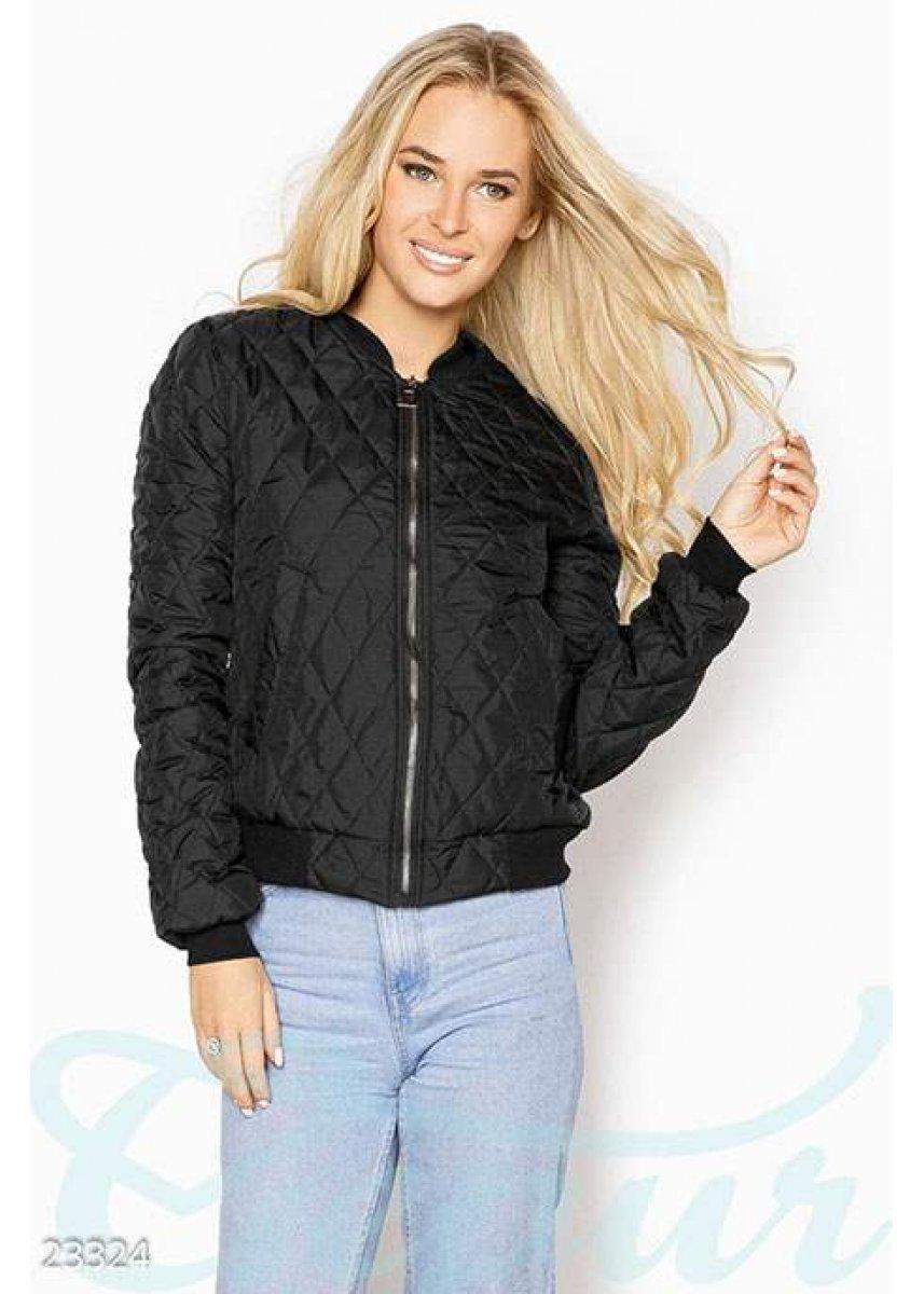 ff148476345 Стеганая куртка-бомбер 23324 купить по низкой цене в Украине ...