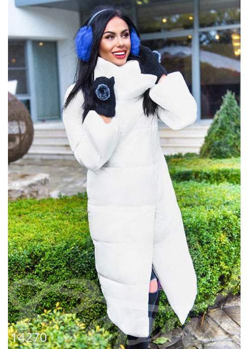 Объемное стеганое пальто 14270 купить по цене 1 002 грн. в Украине — интернет-магазин Modesti