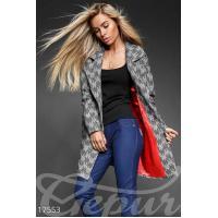 Уютное твидовое пальто