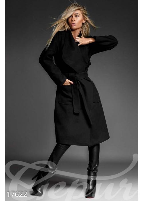 Женственное кашемировое пальто 17622 купить по низкой цене в Украине — интернет-магазин Modesti