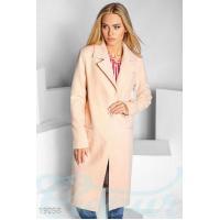 Однобортовое кашемировое пальто