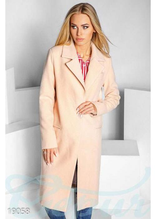 Однобортовое кашемировое пальто 19058 купить по низкой цене в Украине — интернет-магазин Modesti